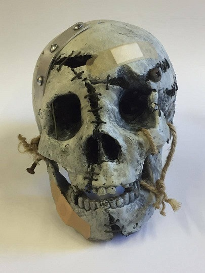 Reconstructed Skelly Skull by Art Director Anton Tremblay