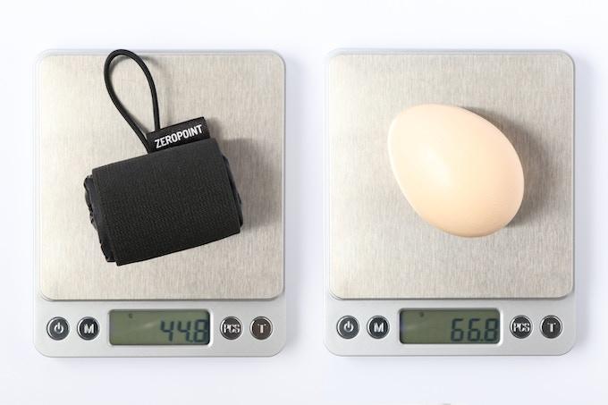 Weight lighter than an egg