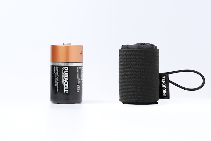 Size as small as a battery