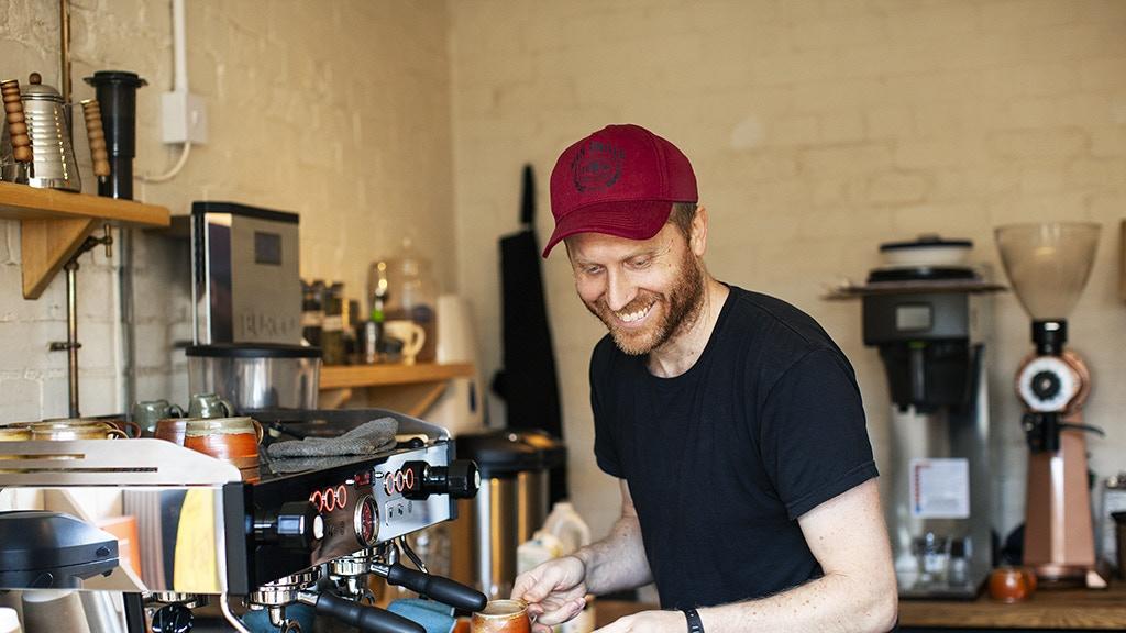 Lufkin Coffee Roasters - Coffee. Pie. Ceramics. project video thumbnail