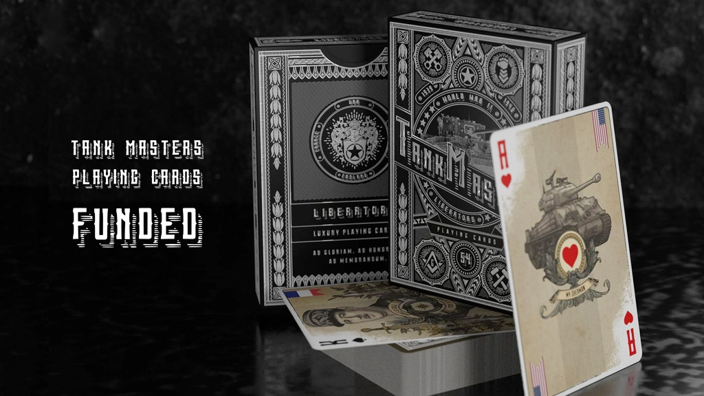 Tank Masters Playing Cards project video thumbnail