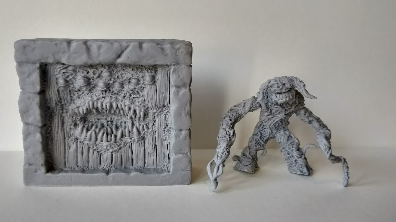 Monthly Monster - Forest Shambler & Demon Door 28mm Minis by