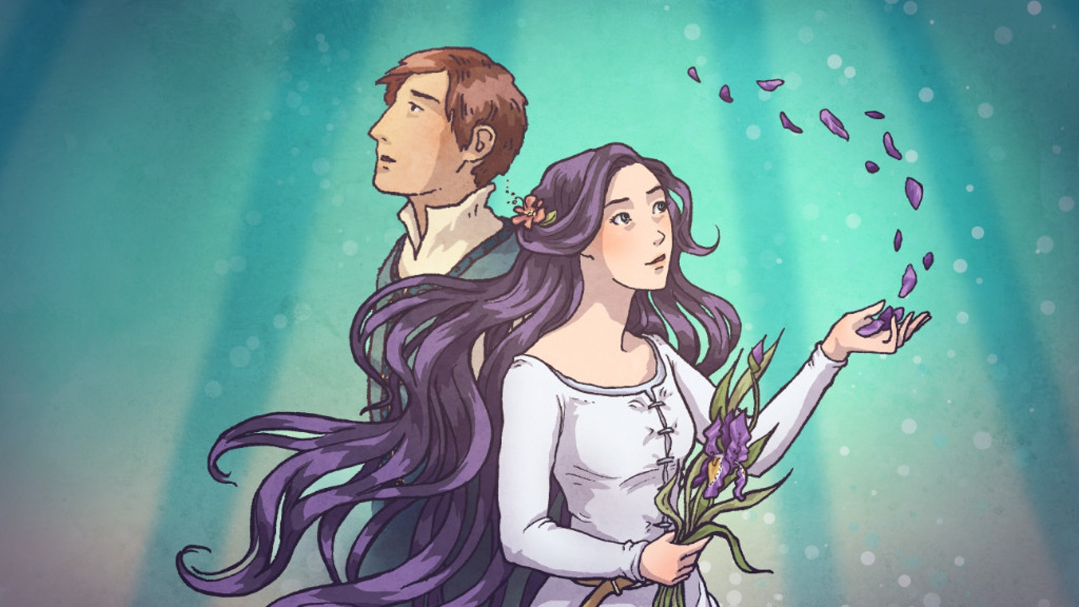 Verity plunges into a quest to rescue her father—and herself!—from a world of imagination. 100+ page, full-color graphic novel.