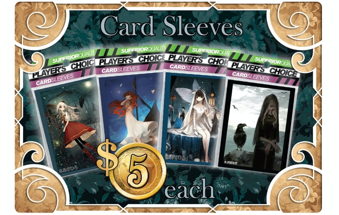 Each pack of sleeves includes 60 Standard Sized Sleeve (Perfect for Magic the Gathering and games like Argoat, Pralaya and Miraris).