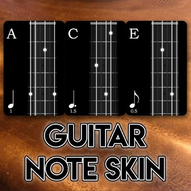 Guitar Skins by Keith ACE-ING IT OUT THERE