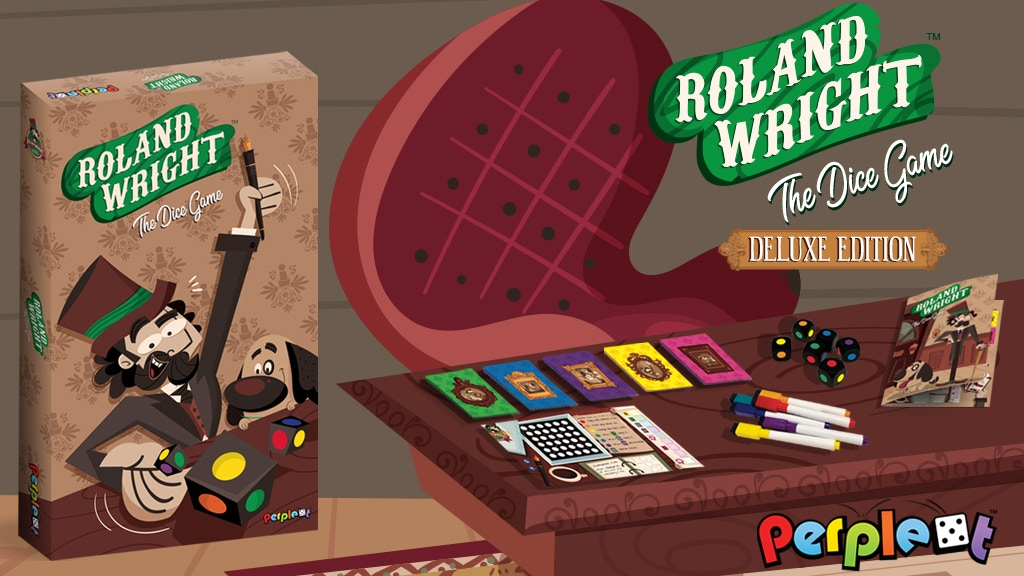 Roland Wright ~ A Roll & Write {& Erase} Strategy Game project video thumbnail