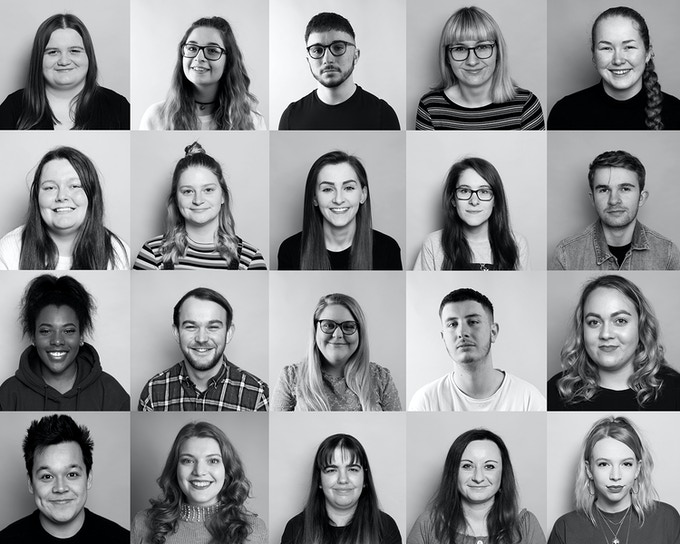 Final year, Ba (Hons) Photography Students, Class of 2019.