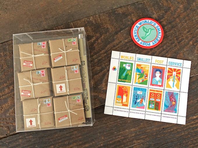 CHOCOLATE tiny package set + goodies! ($50)