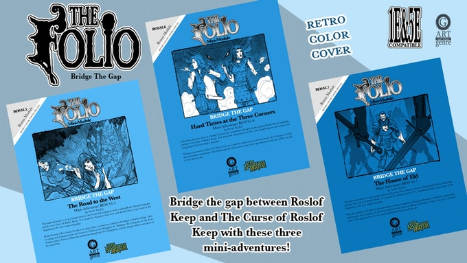 The 1st Bridge Minis in traditional OSR style!