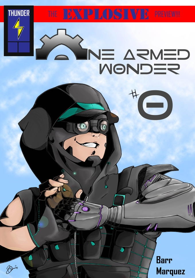 Cover to One Armed Wonder