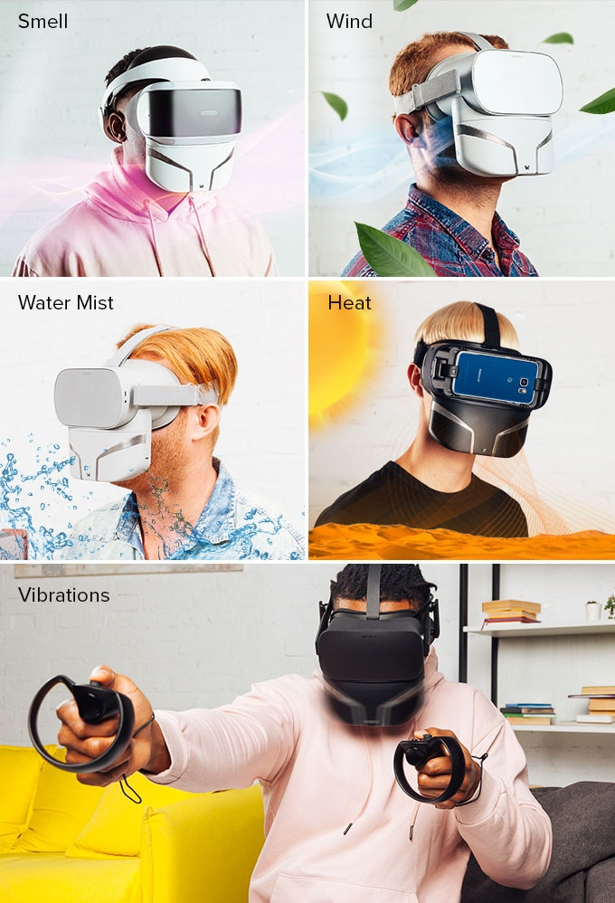 Feelreal - The World's First Multisensory VR Mask by origigy