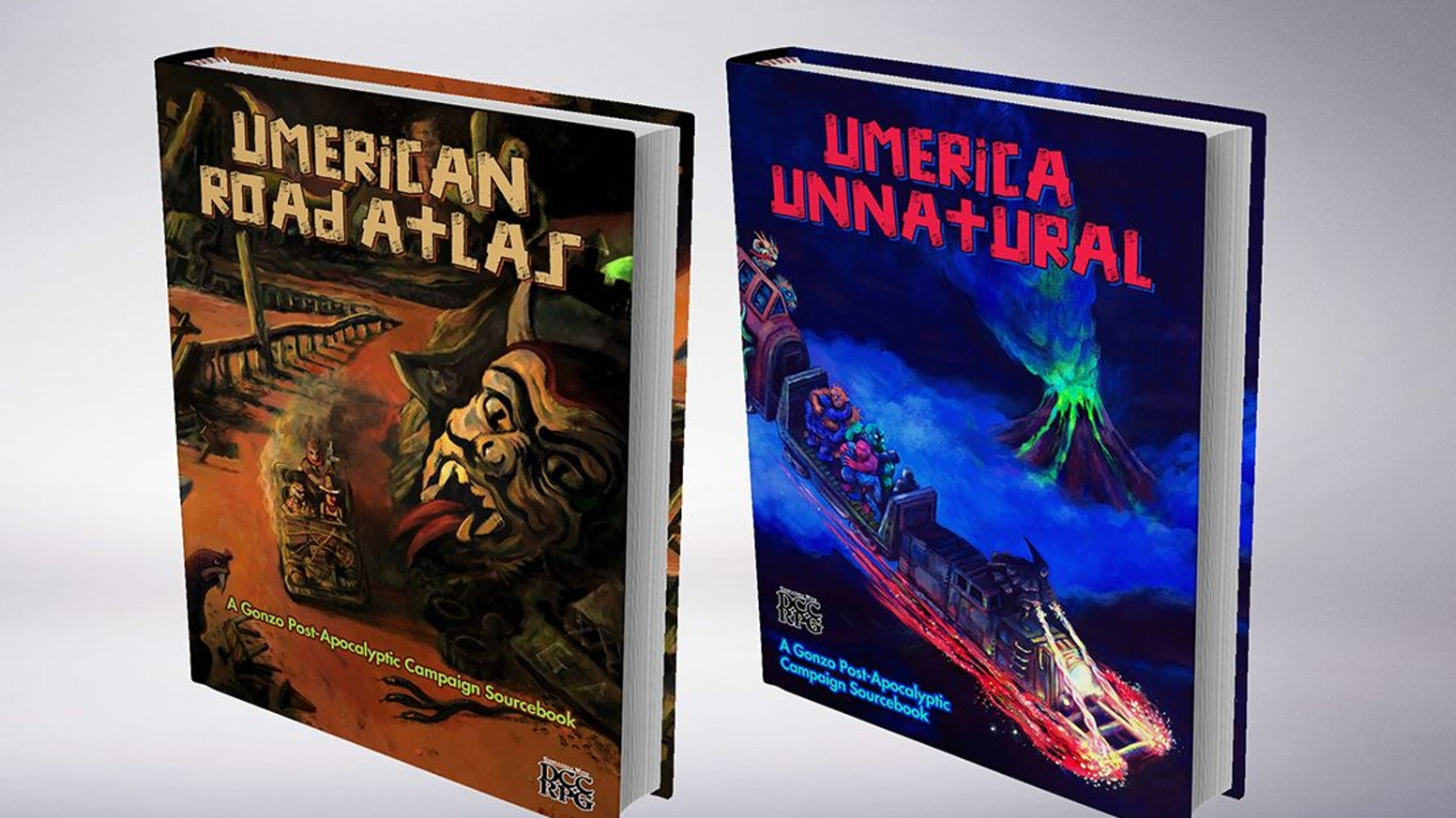 Two new sourcebooks for your Umerican DCC Campaign! A combo meal of wasteland wonder and sweet salvage to enhance your apocalypse.
