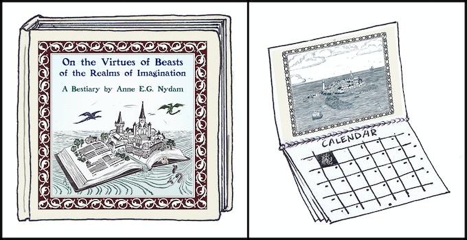 The book!  The calendar!