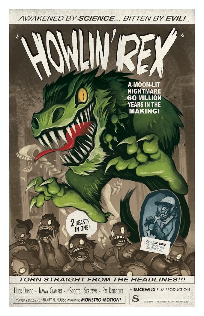 POSTER #2: HOWLIN' REX