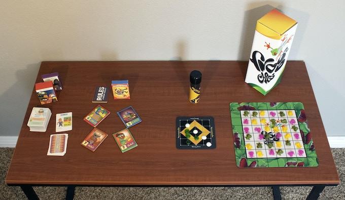 Wet Blanket, SLAMORAMA!, Straight 4 and Frog Chess