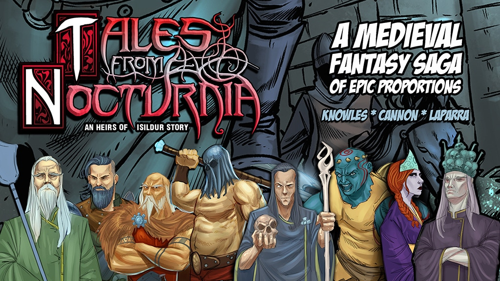 TALES FROM NOCTURNIA #1: An Epic Medieval Fantasy Adventure project video thumbnail