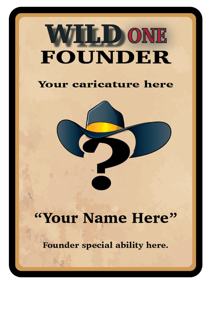 Founder Backer - Become part of the game now and forever