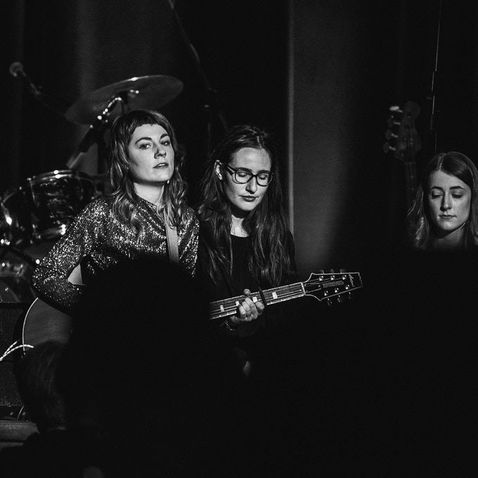 with Iris and Johanna at The Folky Side Of Town, Lustspielhaus, Munich, 2019