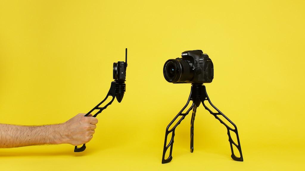 SwitchPod — The minimal, versatile, handheld tripod. project video thumbnail