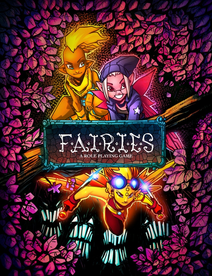 Fairies: A Roleplaying Game Cover