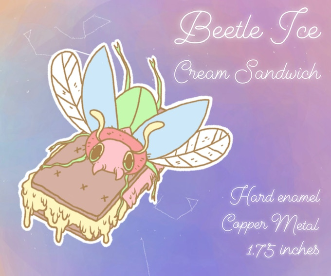 Beetle Ice Cream Sandwich