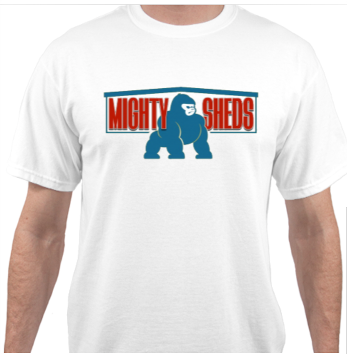 Mighty Shed T (Original Gorilla Design)