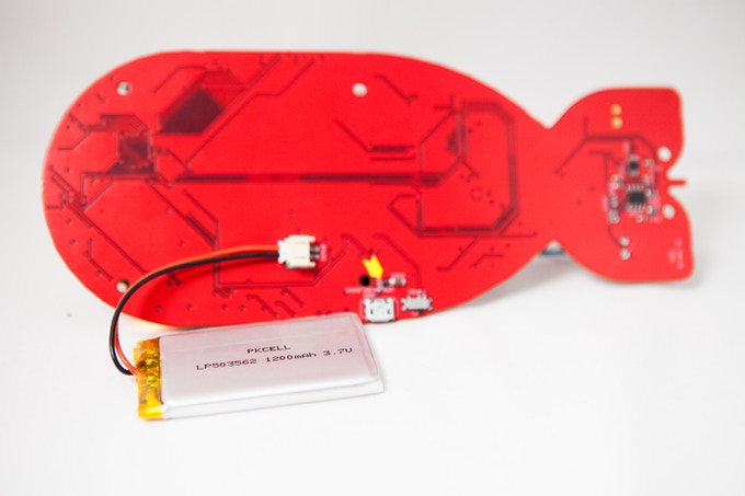 Badge will come with a LiPo battery and recharging system!