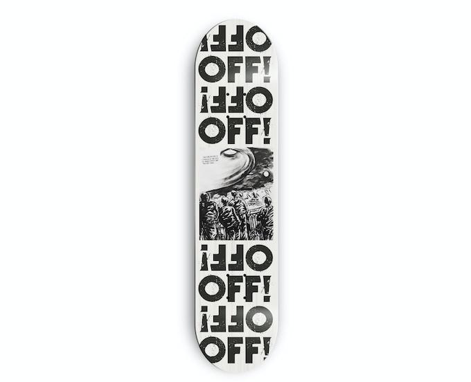Raymond Pettibon OFF! skateboard deck (limited to 250)