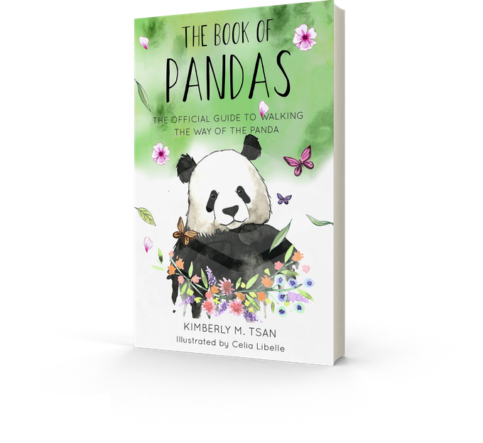 Book of Pandas: The Official Guide to Walking the Way of the Panda (Mockup)