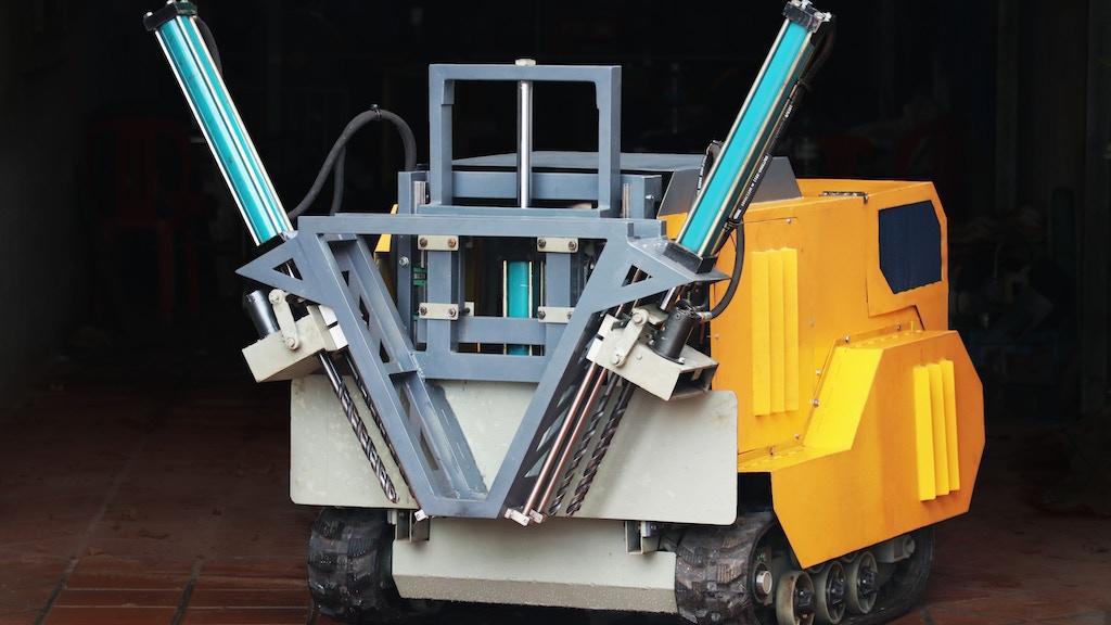 Demine Robotics: Saving Land, Limbs and Lives project video thumbnail
