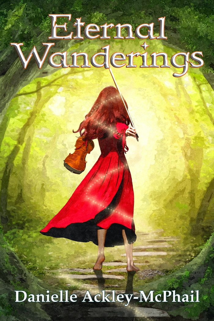 Human...Goddess...Savior...Wanderer. Kara O'Keefe has fufilled her legacy. Now her legend builds. Follow the magic. #EternalWanderings.
