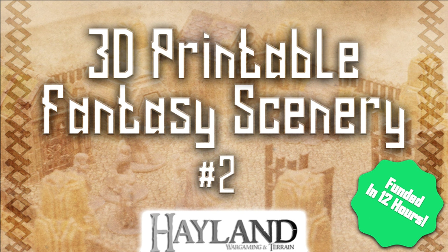 3D Printable 28mm Fantasy Scenery - STL Files - 28/32mm -  Perfect for Pathfinder, Dungeon and dragons and Frostgrave!