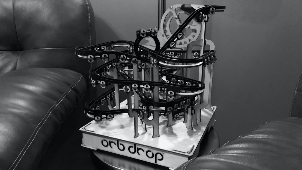 orb drop | a marble run track that you build yourself project video thumbnail