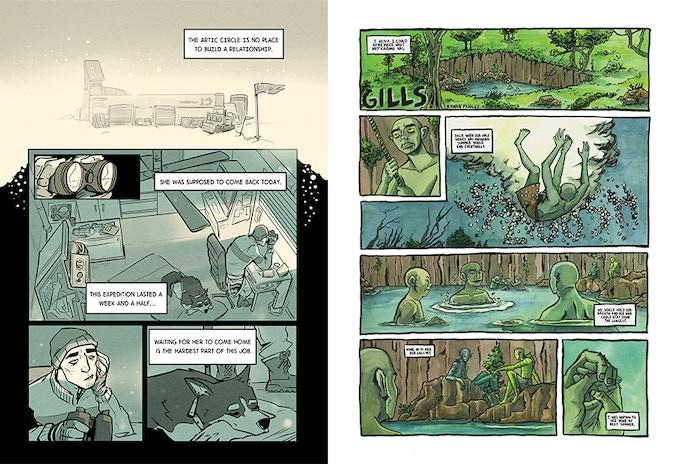Sample pages by Alex Shammas and Rowan Fridley