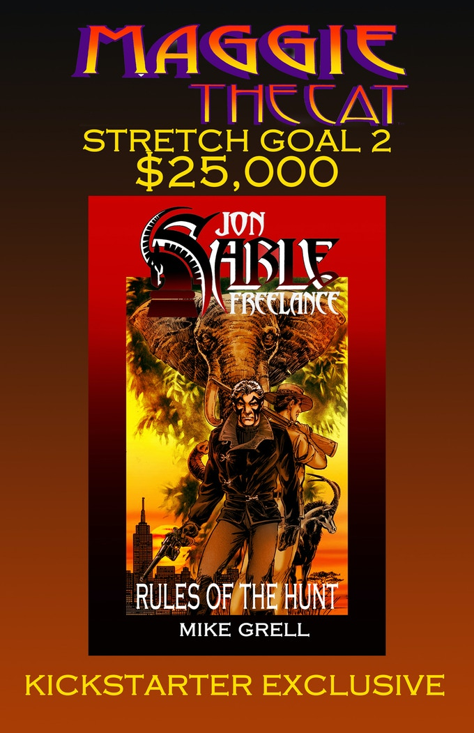 Sable bonus book! Stretch goal two!