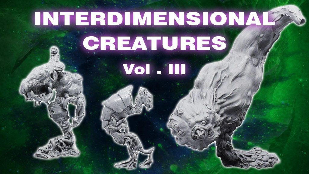 Interdimensional Creatures Vol.III