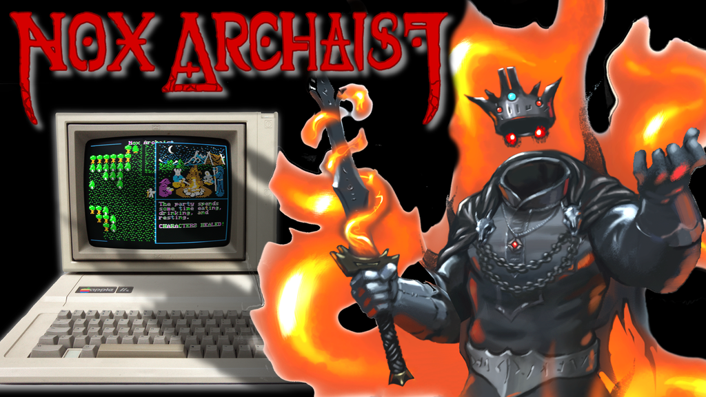 Nox Archaist: An 8-bit RPG for Apple II, Mac, and PC by 6502