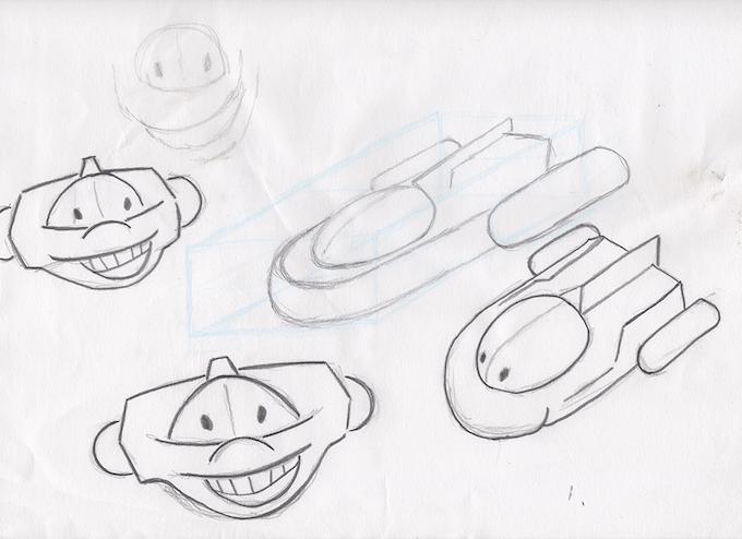 Original Ion Sketch (Kielen King)