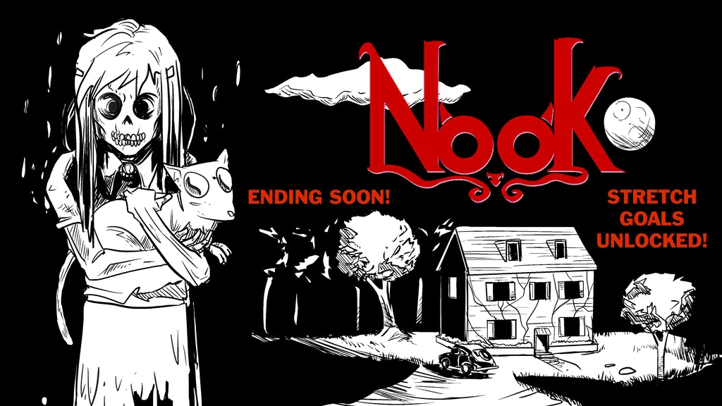 NOOK - a WWII Ghost Story (Hardcover Graphic Novel) project video thumbnail