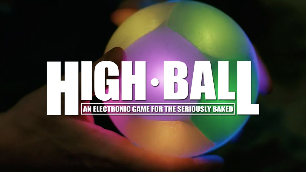 High Ball: An electronic game for the seriously baked project video thumbnail