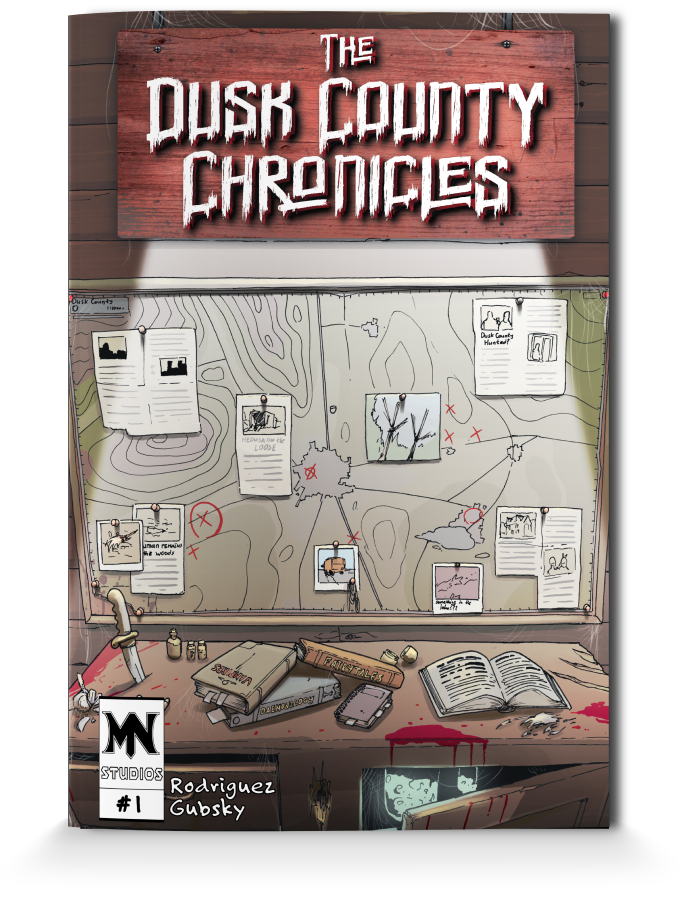 The Dusk County Chronicles: A Horror-Parody Mini-Anthology by Joel