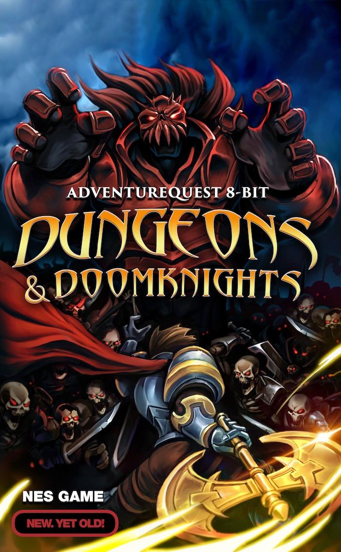 Dungeons & DoomKnights: An 8-bit AdventureQuest for the NES
