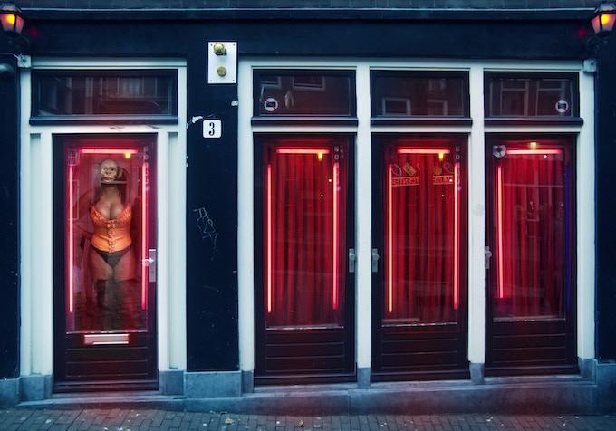 Red Light Distric, Amsterdam, Holland