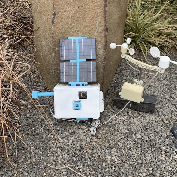 Solar Power on SkyWeather