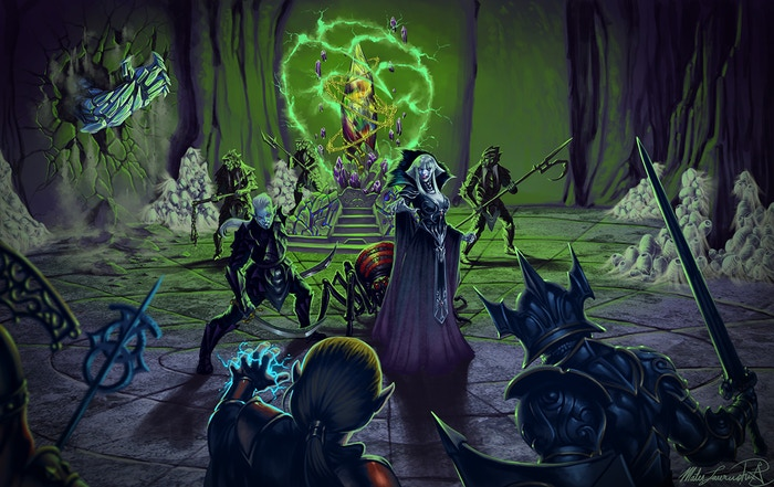 Battle against Matron Maelora for the Vidrefacte at the top of Tolgorith Tower by Mates Laurentiu (just completed)