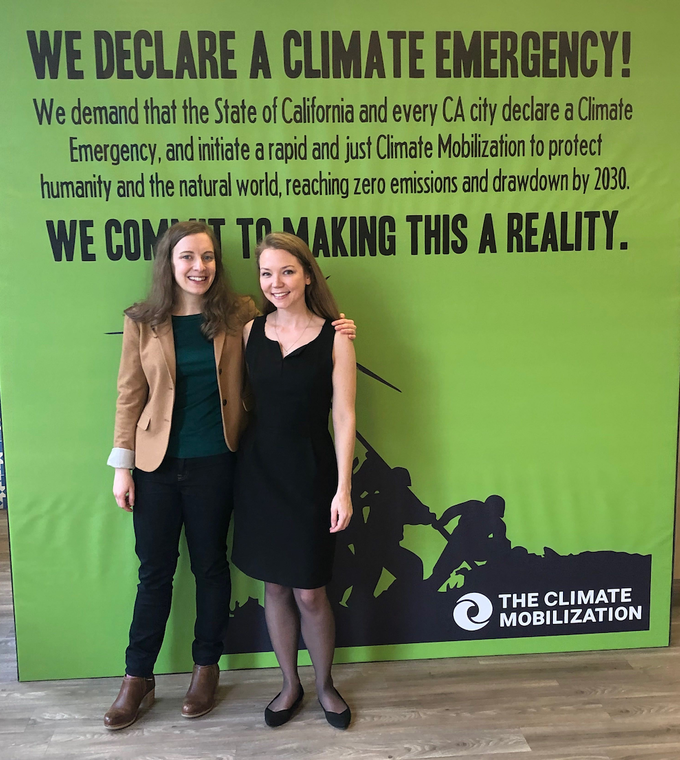 "The Climate Mobilization has been instrumental in spreading the ""Climate Emergency"" campaign"