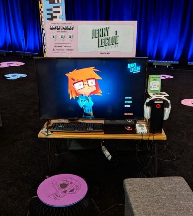 All setup and ready to go for GDC!