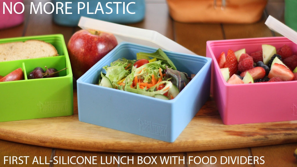 The First All-Silicone Eco Lunch Box NOW With Food Dividers project video thumbnail