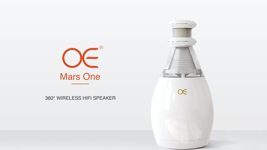 OE Mars One | 360° Wireless HiFi Speaker
