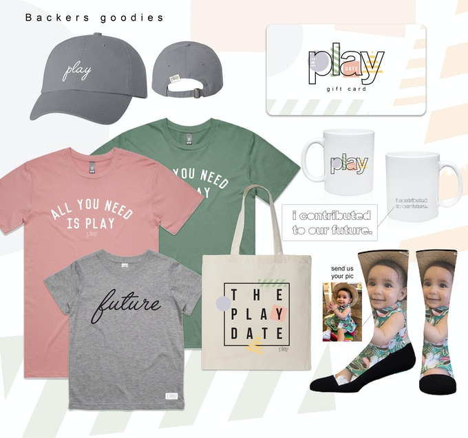 The Play Date Merchandise